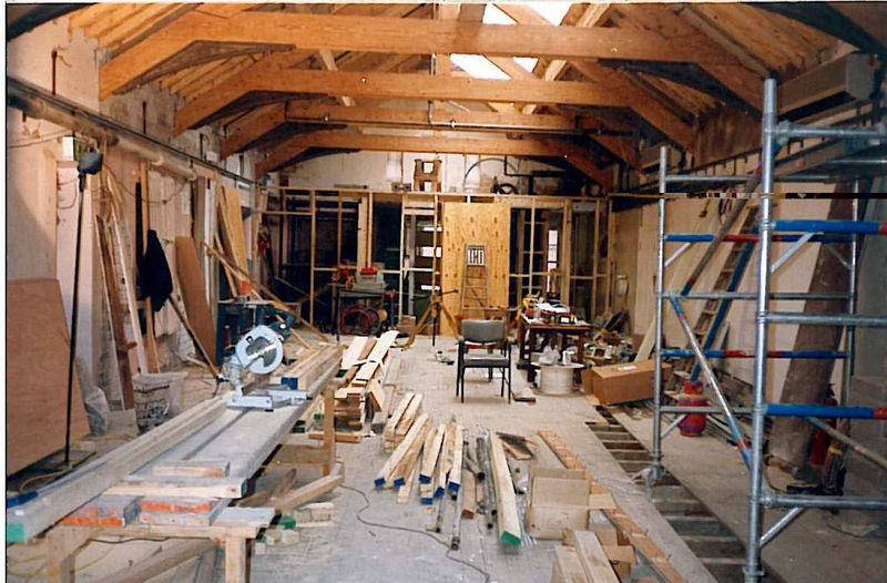9373_Grand Theatre Studio, under construction 1992